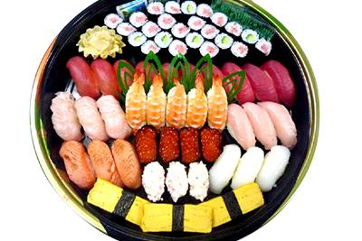 寿司盛合せ例1
