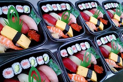 寿司盛合せ例2