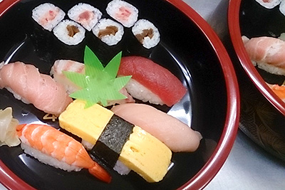 寿司盛合せ例3